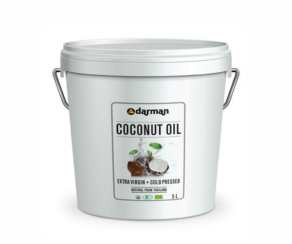 Органическое масло кокоса Darman/5 L