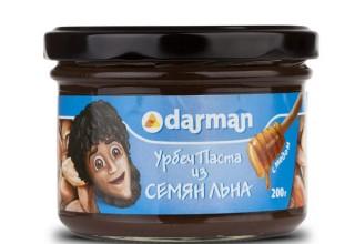 Урбеч из семян льна / 200 гр